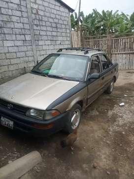 Toyota Corolla usado pero en buenas condiciones