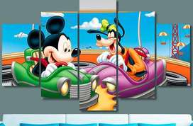Cuadros Mickey mouse