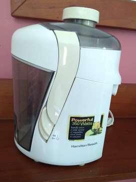 Vendo Extractor de jugos Hamilton Beach - Usado