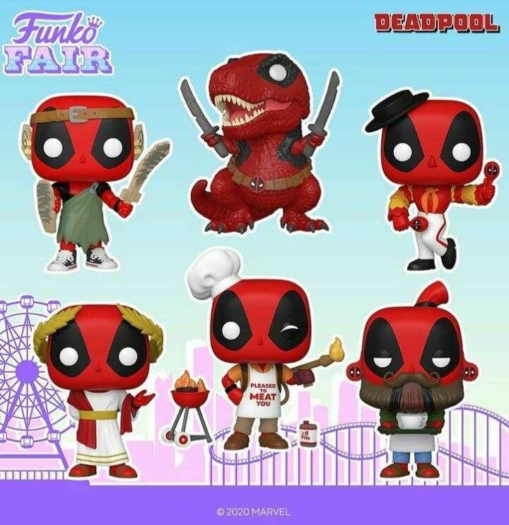 Funko Pop Deadpool 30 aniversario 0
