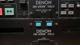 Compactera DJ Doble DENON DN 2000f MKII