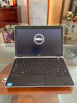 Dell latitude E6230 core i7 de 3th gen 6gb 128gb sólido pantalla de 12.5 lector de huellas