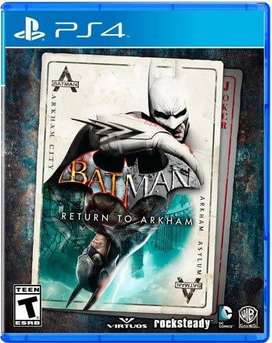 Batman Return to Arkham Nuevo y Sellado PS4 (2 juegos y 2 discos)