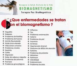 Sesiones de Biomagnetismo, Magnetoterapia y otras terapias alternativas