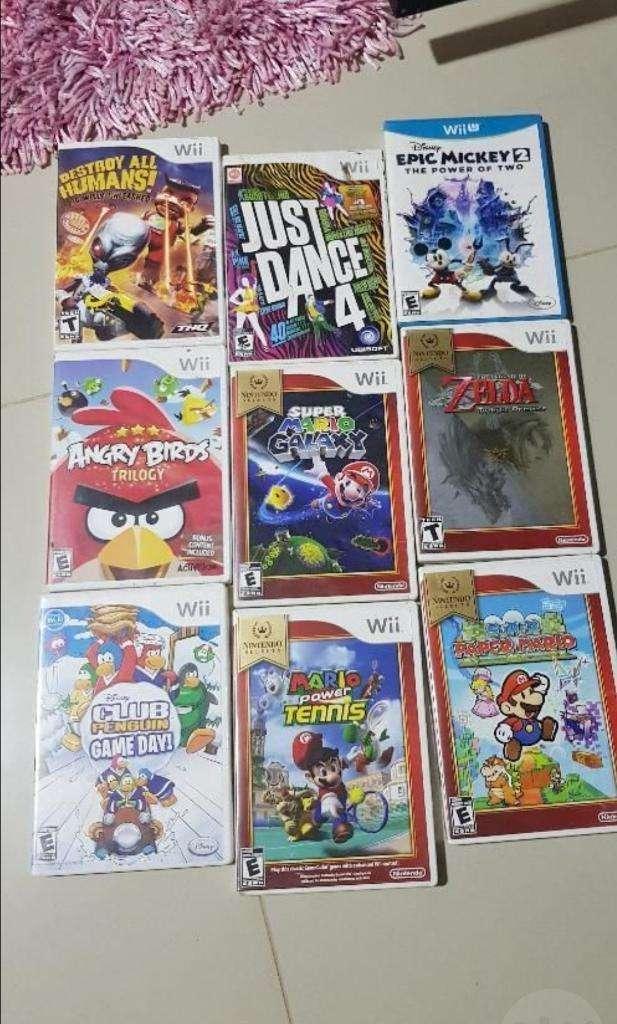 Videojuegos Wii Y Wiiu 0