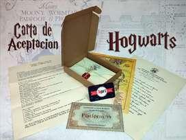 Carta de aceptación Hogwarts personalizado con tu nombre