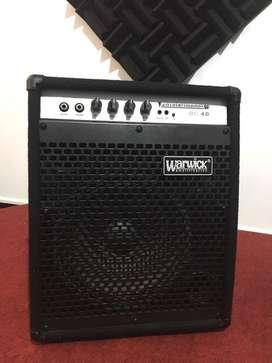 Amplificador  de bajo Warwick BC40