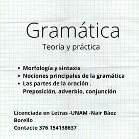 Clases de Gramática