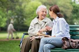 Auxiliar de Enfermería interna con funciones domésticas