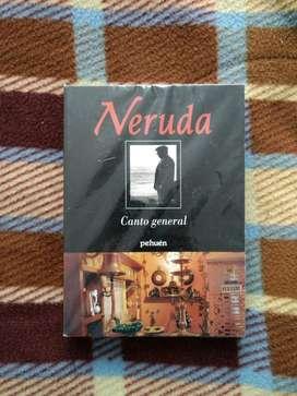 Libro Canto General de Pablo Neruda