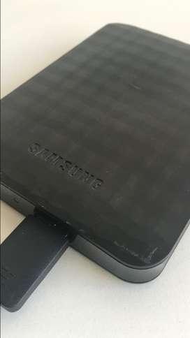 Disco externo Samsung 1TB usado