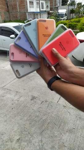 Silicone case originales para tu iphone