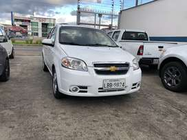 CHEVROLET	AVEO EMOTION ADVANCE AC 1.6 AÑO 2016