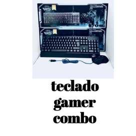 TECLADO GAMER COMBO TG-710