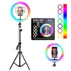 Aro de luz de 33cm RGB