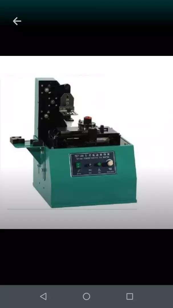 Máquina de tampografia OFERTA 0