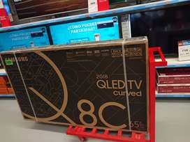 Remate TV Samsung Q8 65 pulgadas