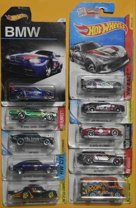 Hot Wheels Lote 10 carros Ediciones Pasadas Nuevos Coleccionables L9