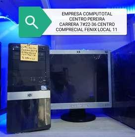 HP INTEL CORE 2 DUO CON MONITOR 17 TECLADO MASUO GARANTÍA
