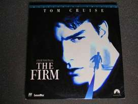 DISCO LASER  DOBLE , THE FIRM , TOM CRUISE, MADE IN U.S.A. DE COLECCION.