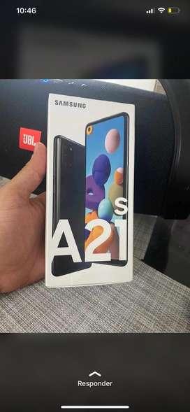 Samsung galaxy A 21 s de 128 gb nuevo
