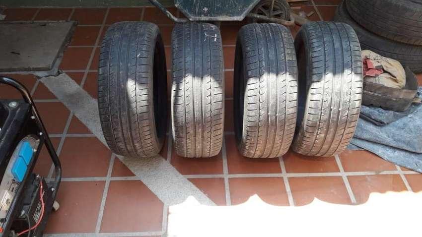 Cuatro gomas Michelin 0