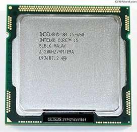 Procesador Intel Core I5 650