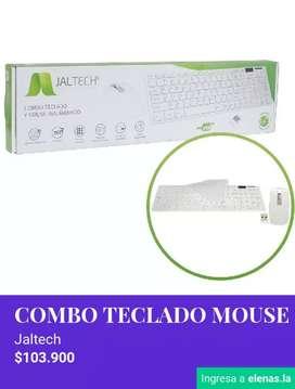 Combo teclado mause inhalambrico