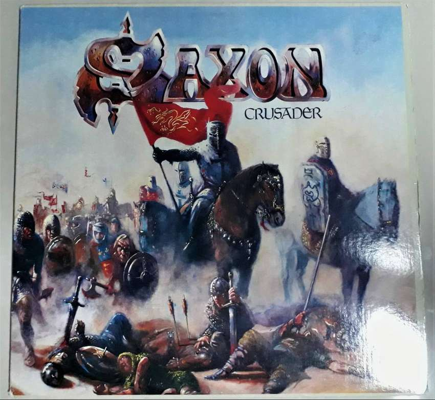 Saxon/ Crusader / Vinilo Lp Americano /1984