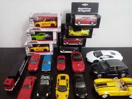 LOTE DE AUTOS A ESCALA - CARROS DE COLECCION