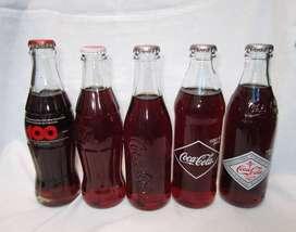 Botellas de Coca Cola Conmemorativas