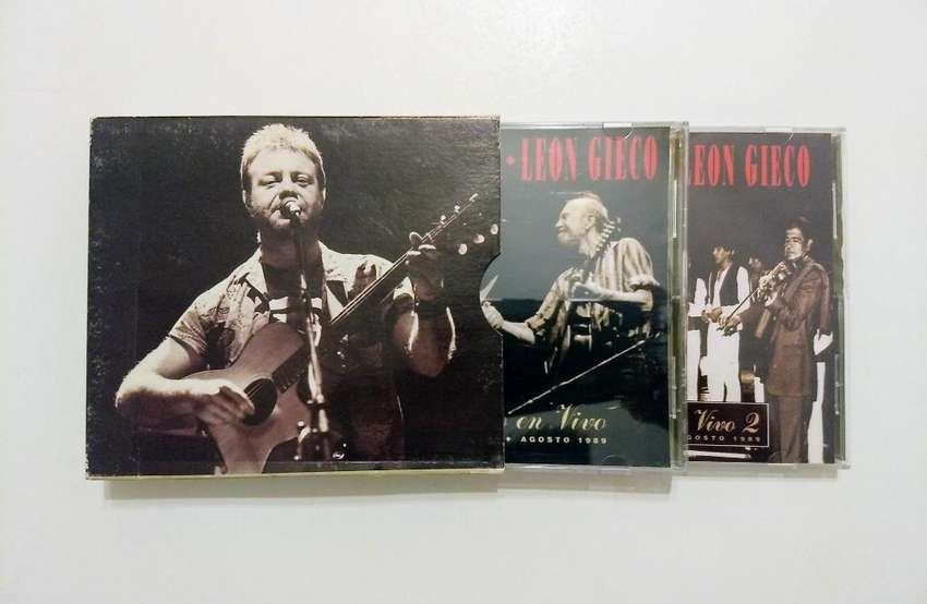 CD doble de León Gieco y Pete Seeger 0
