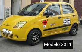 VENDO O PERMUTO TAXI SPARK 2011 - METROPOLITANO