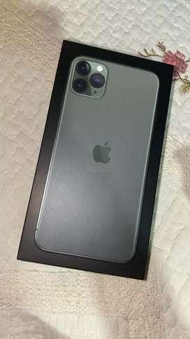 Vendo iphone 11 pro máx con fisura Leer bien el anuncio