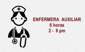 ENFERMERA - LICENCIADA - AUXILIAR