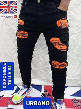 Jeans y bermudas  para hombre