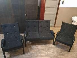 Juego de sillones de 3 piezas