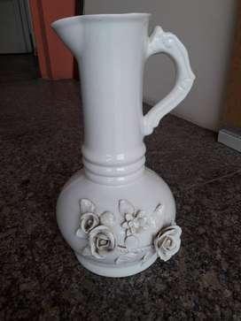 Vendo jarrón (florero) de cerámica