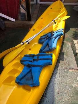 Patagonia kayak delta completo para 2 personas