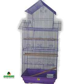 Jaula Tipo Castillo para Aves