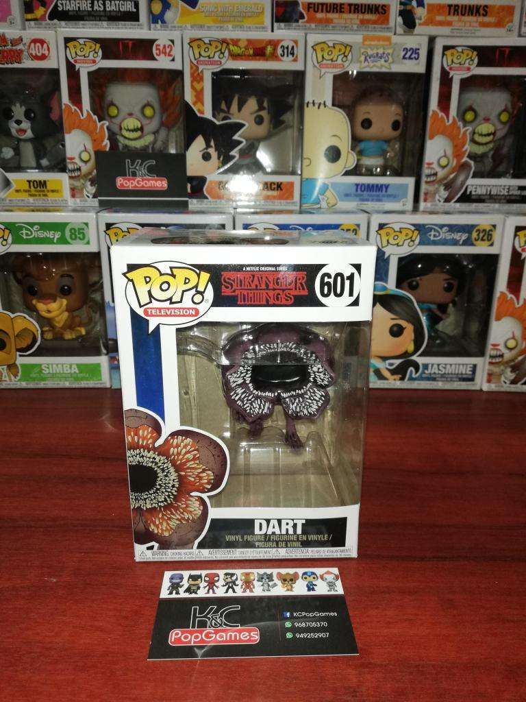 Funko Pop Dart Stranger Things 0