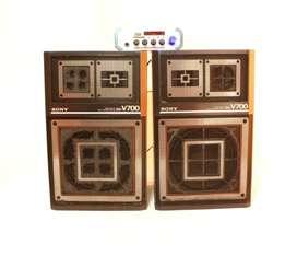Gran Remate!! Amplificador de Sonido CA-1204/BT 30W USB SD FM 1 + Bafles SONY SS V700