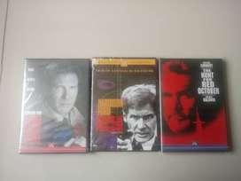 3 Películas de Jack Ryan en DVD