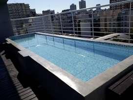 ALQUILO EN PALERMO por 1 dia 1 noche ymas piscina parrilla cochera 3/4 personas