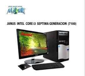 Computador Janus Core i3 de 7maG D.D.1TB/ 4RAM