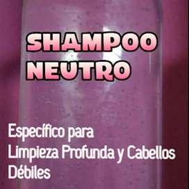Shampoo Ácido y Neutro