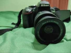 Cámara Réflex Nikon D5300 con 10.836 disparos, en excelente estado.