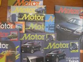 Ediciones antiguas de revista Motor