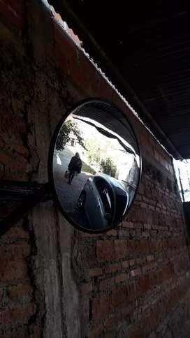 Espejo parabólico usado