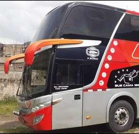 BUS DOS PISOS MARCA SCANIA, AÑO 2013 MOD. 14, CAP. 60 PJS.